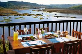 Property Photo: Enjoy Breakfast while looking over the Lagoon
