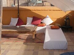 Riad Sara: Roof Terraces