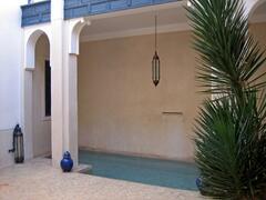 Riad Sara: The Swiming Pool