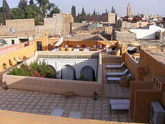 Riad Sara: View from the terraces