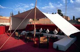 Riad Sara: Caidal Tent