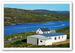 Property Photo: Loch View Cottage overlooks Little Loch Roag