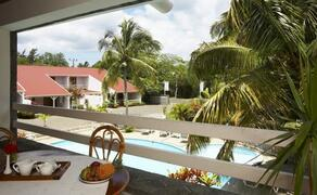 Property Photo: Mauritius 'Mont Choisy Holiday Villas Studios' located in Trou Aux Biches in lush tropical garden with swimming pool only 100 m beach and only 1 road to cross.