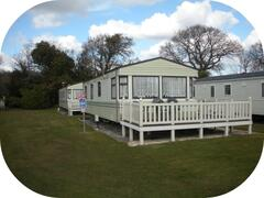 Property Photo: Willerby Westmoreland 3 beds. Deck