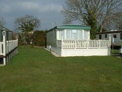 Property Photo: ST37 Luxury 3 Bedroom caravan. Pet friendly caravans which allows 2 dogs.