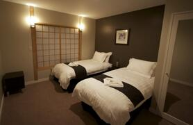 Furano Chalet Bedroom (set up with Twin Beds)