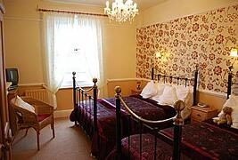 One of many comfortable, spacious bedrooms