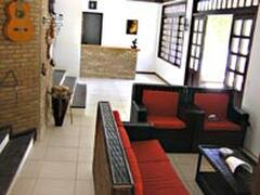 living room & bar area