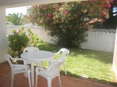 Blue Villa: outside terrace