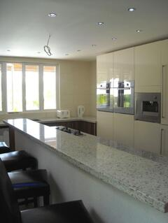 Gourmet kitchen, fully furnished with state of the art, energy efficient appliances