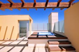 Property Photo: Private rooftop Jacuzzi