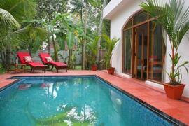 Property Photo: Kerala Pool Cottage on Marari Beach