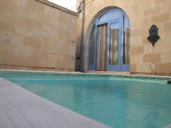 private pool available