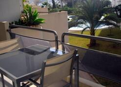 Terrace with fabulous views,seating for 4 people
