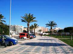Paseo Maritimo, in front of the building