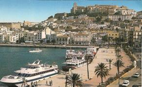 Ibiza Town is nearby