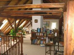 Enormous attic living room