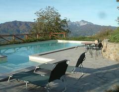 Pool at Villa Prunecchio
