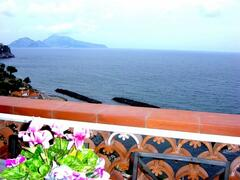 Property Photo: Capri view from terrace Villa
