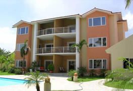 Property Photo: These Cabarete Condos are in the best location, second row to the beach