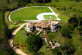 Property Photo: A bird`s eye view of this majestic ocean view estate in Cabrera