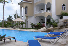 Property Photo: Condos with a view of the ocean and just meters away from the Cofresi beach