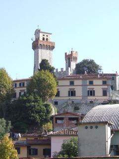 Nozzano Castello - the property is located in this medieval village, just 10 minutes from Lucca