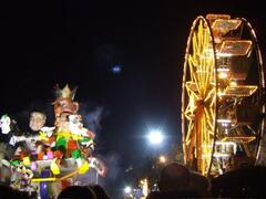 Carneval - the Carneval at Viareggio is held every weekend in February