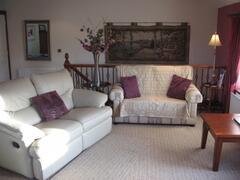 April Cottage Living room