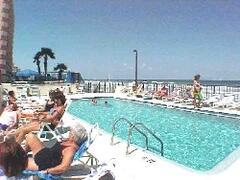 Oceanfront Pool Deck/Hot Tub