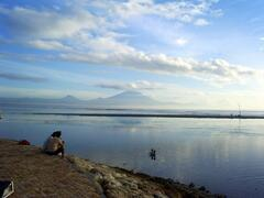 View to Mt.Agung