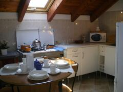 The well equipped kitchen/diner