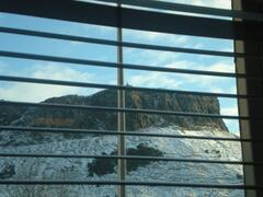 Property Photo: Lounge View of Arthur's Seat
