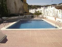 Property Photo: Pool and surrounding apartments