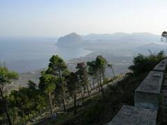 View from Erice
