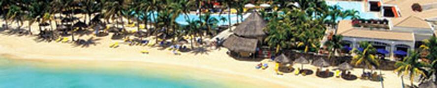 Le Mauricia Hotel beach