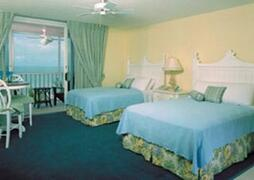 Pink Shell Apartments bedroom