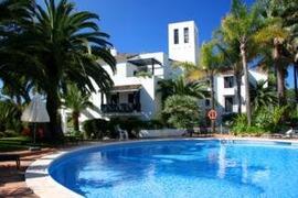 Property Photo: Jardines Golondrinas Apartments pool