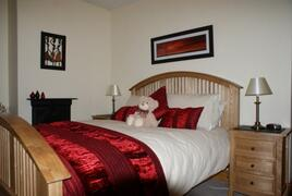 Property Photo: King Sized Master Bedroom