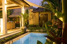 Property Photo: Tropical Bali gardens and private pool