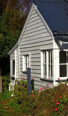 Laudslaw Cottage, set in rambling gardens.