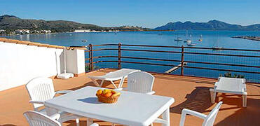 Property Photo: Sea view from terrace