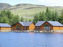 Property Photo: Lodge overlooking loch