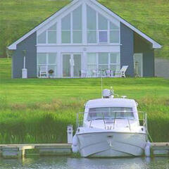 Property Photo: Esox Lodge, Riverside 3 bedroom lodge with stunning river views
