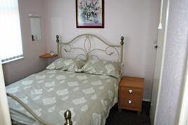 Bedroom Lower Lakeide Chalet