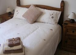 Property Photo: Spanish style Double bedded room