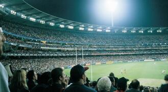 MCG (Melbourne Cricket Ground) nearby
