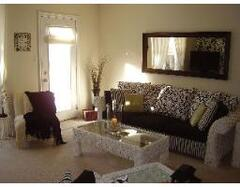 Spacious Living Room with Queen Sofa Sleeper