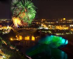 Fireworks over Falls !
