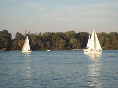 Or sailing On-the-Lake